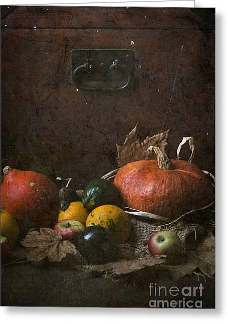 Pumpkins Greeting Card by Jelena Jovanovic
