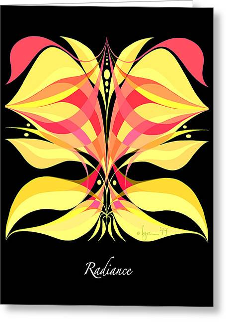Survivor Art Greeting Cards - Radiance Greeting Card by Angela Treat Lyon