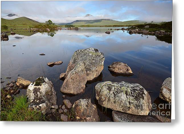 Rannoch Moor Greeting Card by Stephen Smith