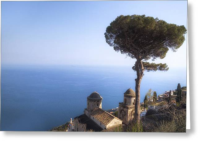 Med Greeting Cards - Ravello - Amalfi Coast Greeting Card by Joana Kruse
