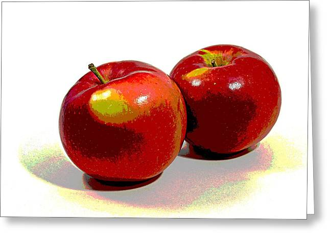 Fruit Tree Art Greeting Cards - Red Delicious Greeting Card by Douglas Miller
