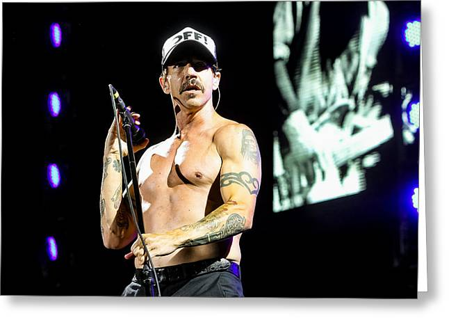 ist Photographs Greeting Cards - Red Hot Chili Peppers Greeting Card by Gediminas  Bartuska