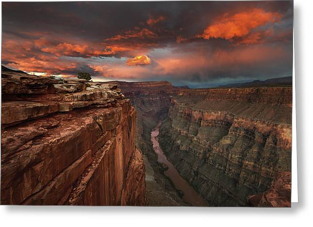Grand Canyon Photographs Greeting Cards - Redemption Greeting Card by Chris Moore