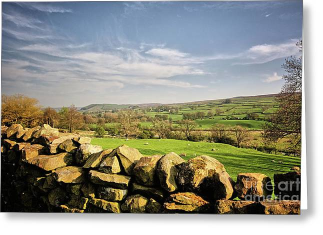 Reeth Views Greeting Card by Stephen Smith