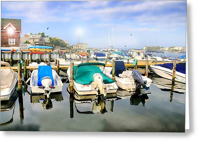 Boat Slip Greeting Cards - Remember Greeting Card by Diana Angstadt