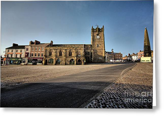 Richmond, North Yorkshire Greeting Card by Stephen Smith
