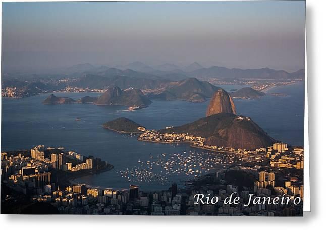 Foggy Beach Greeting Cards - Rio de Janeiro Greeting Card by Daniel Precht