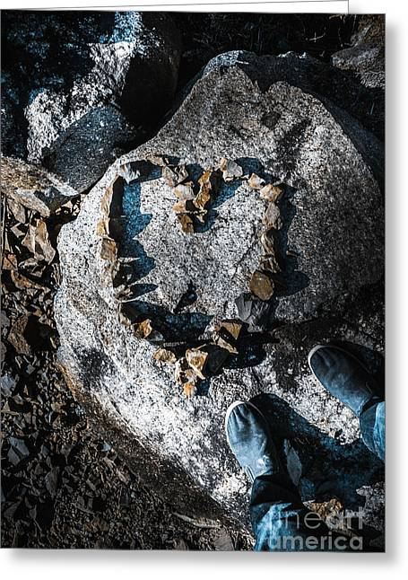 Rock Solid Love Greeting Card by Jorgo Photography - Wall Art Gallery