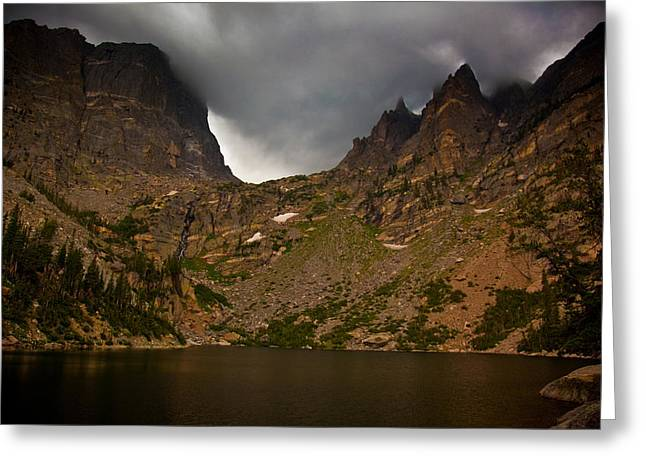 Thunderstorm Greeting Cards - Rocky Mountain National Park Greeting Card by Patrick  Flynn