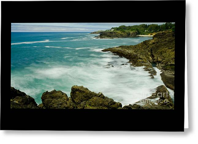 Beach Photography Greeting Cards - Rocky Point Seascape Greeting Card by Nick  Boren