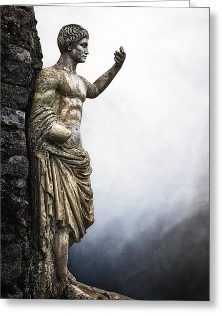 Roman Emperor Greeting Card by Joana Kruse