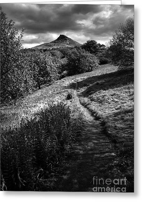 Roseberry Topping Greeting Card by Stephen Smith