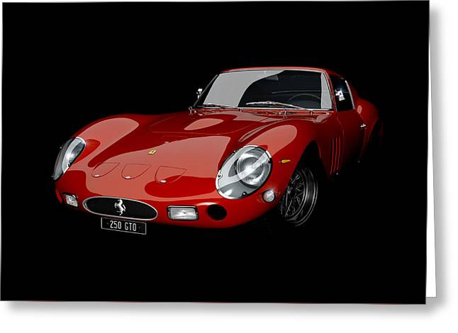 Valuable Greeting Cards - Rosso 1963 Greeting Card by Dan Lennard