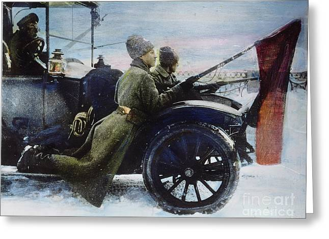 Russian Revolution, 1917 Greeting Card by Granger