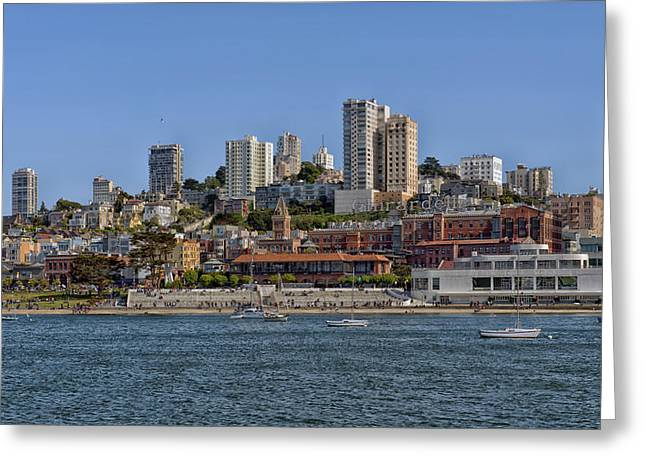 Ghirardelli Greeting Cards - San Franciscos Ghirardelli Square Greeting Card by Mountain Dreams