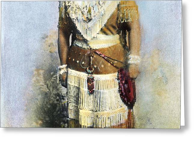SARAH WINNEMUCCA Greeting Card by Granger