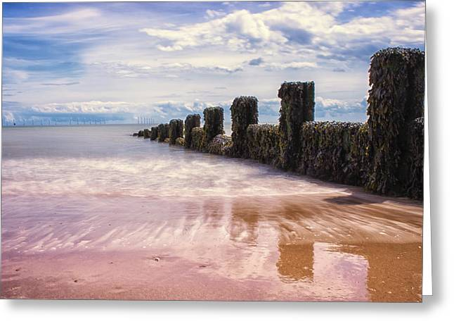 Seascape Greeting Card by Martin Newman
