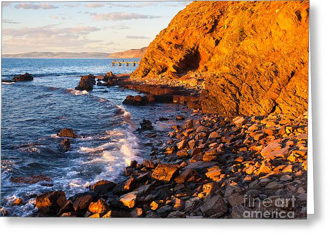 Fleurieu Greeting Cards - Second Valley Greeting Card by Bill  Robinson