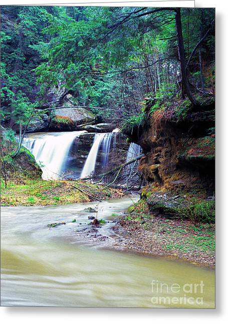 Queer Greeting Cards - Serene Solitude Greeting Card by Thomas R Fletcher