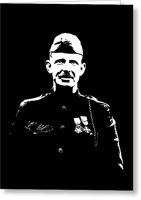 Wwi Greeting Cards - Sergeant Alvin York Greeting Card by War Is Hell Store