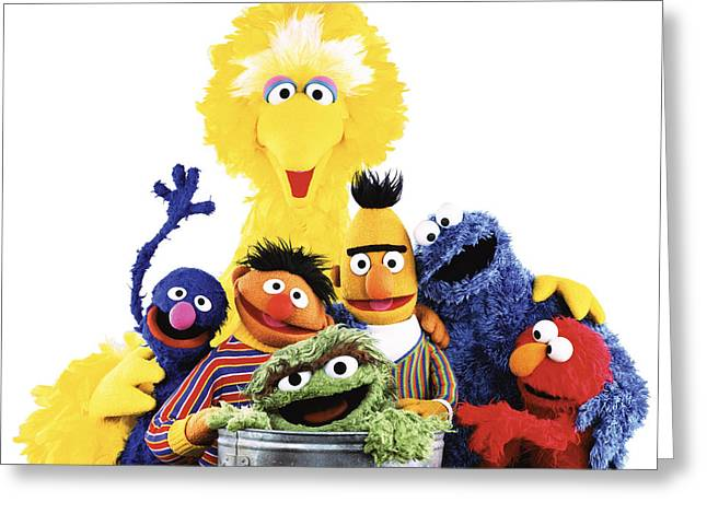Sesame Street Greeting Card by Sesame Street