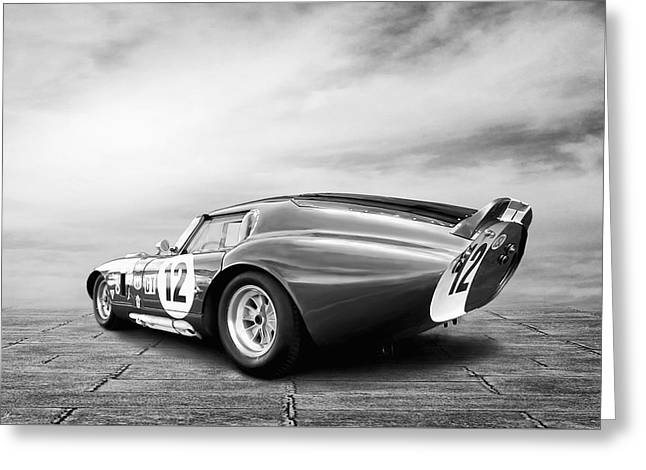 Shelby Daytona Coupe Greeting Card by Peter Chilelli