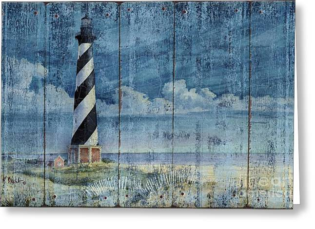 Silent Greeting Cards - Silent Sentinel - Distressed Greeting Card by Paul Brent