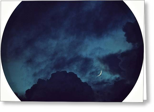 Gift Ideas For Her Greeting Cards - Silver Of Moonlight Greeting Card by Mingtaphotography