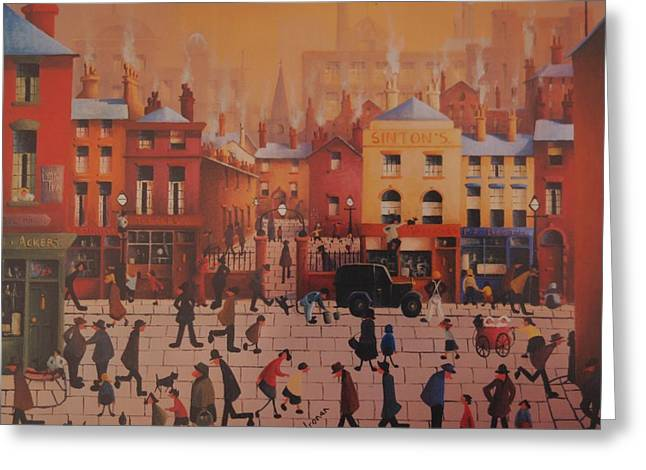 Sintons Liverpool Greeting Card by Joe Gilronan