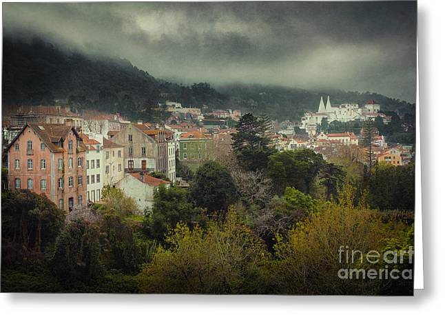 Winter Travel Greeting Cards - Sintra Landscape Greeting Card by Carlos Caetano