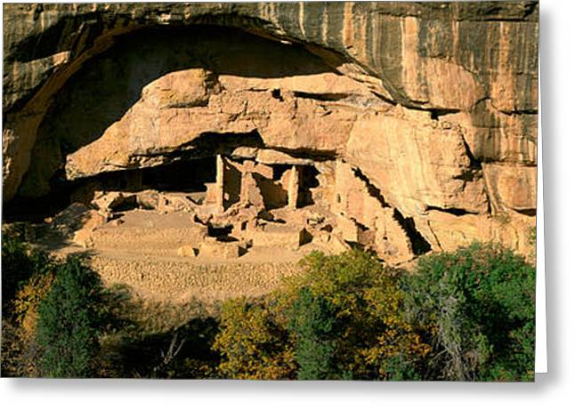 Spruce Tree House, Mesa Verde National Greeting Card by Panoramic Images