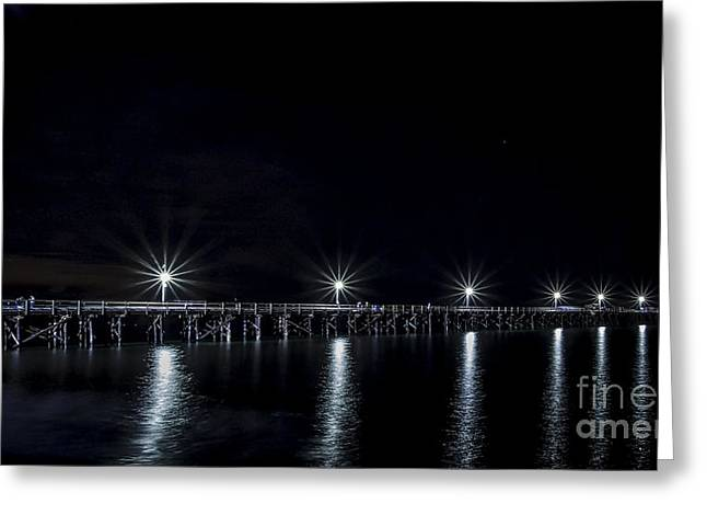 California Ocean Photography Greeting Cards - Starlight Star Bright Greeting Card by Mitch Shindelbower