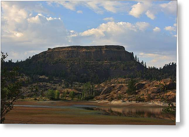 Geology Photographs Greeting Cards - Steamboat Rock Greeting Card by Stacie Gary