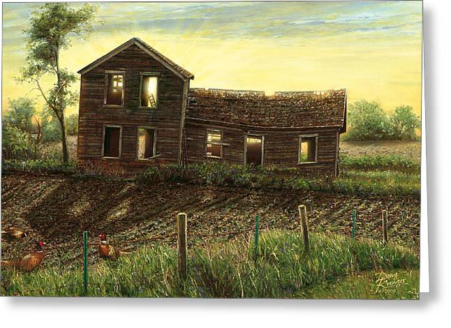 Still Light In The House Greeting Card by Doug Kreuger