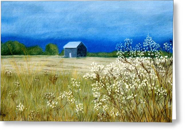 Georgia Pastels Greeting Cards - Stormy Afternoon Greeting Card by Jan Amiss