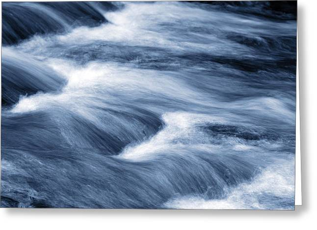 Floods Greeting Cards - Stream Greeting Card by Les Cunliffe