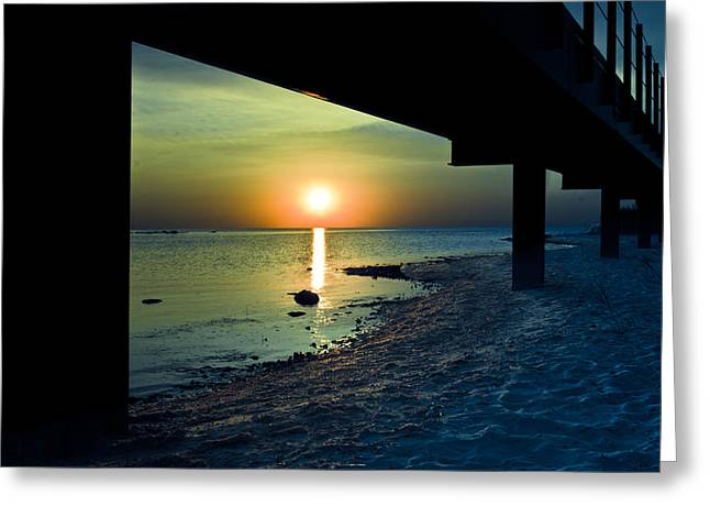 Beach Photos Greeting Cards - Summer Glow Greeting Card by Jason Naudi Photography