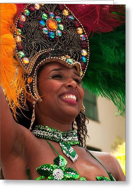 Nahmias Greeting Cards - Summer Solstice parade Santa Barbara  2010 Greeting Card by Eyal Nahmias