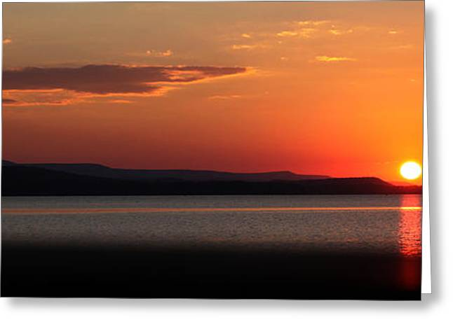 Arkansas Greeting Cards - Sunday Sunset Greeting Card by Darrell Storts