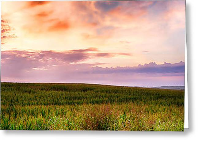 Tn Greeting Cards - Sunrise on the Farm Greeting Card by Rob Beverly