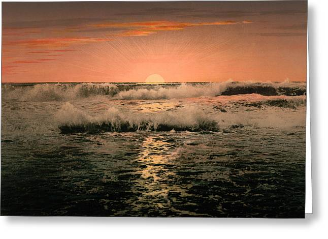 Sunrise Greeting Card by Unknown