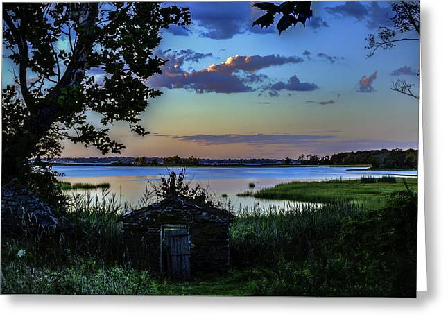 Sheds Greeting Cards - Sunset Greeting Card by Billy Bateman