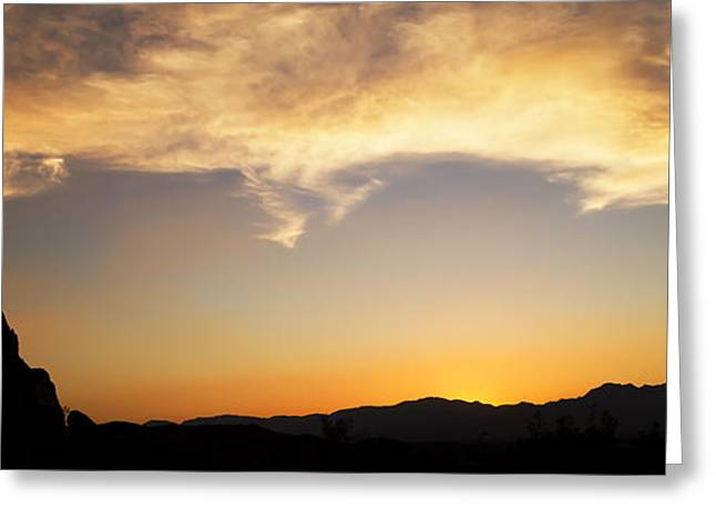 Mike Hill Greeting Cards - Sunset on Rademacher Greeting Card by Mike Hill