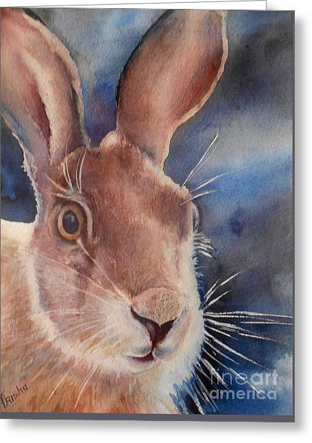 Surprise Greeting Card by Patricia Pushaw
