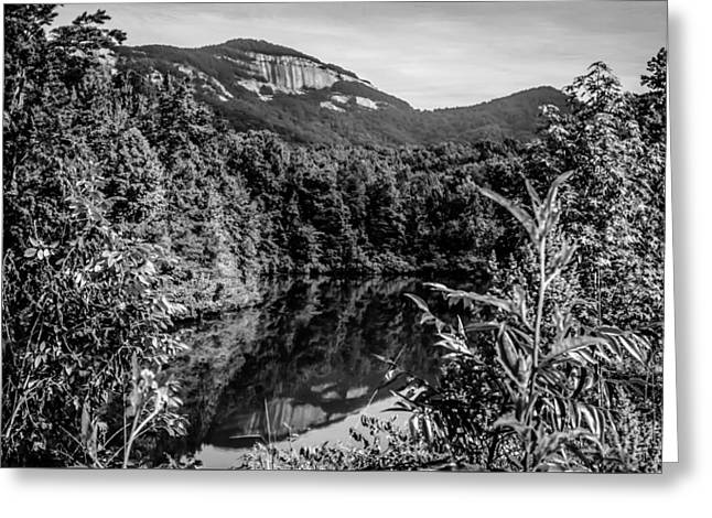 Outlook Greeting Cards - Table Top Mountain With Reflections In A Lake Greeting Card by Alexandr Grichenko