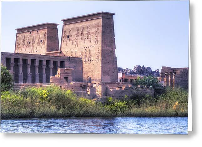 Phila Photographs Greeting Cards - Temple of Philae - Egypt Greeting Card by Joana Kruse