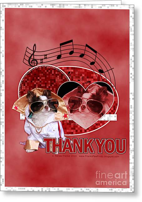 Thank You - Thank You Very Much Greeting Card by Renae Laughner