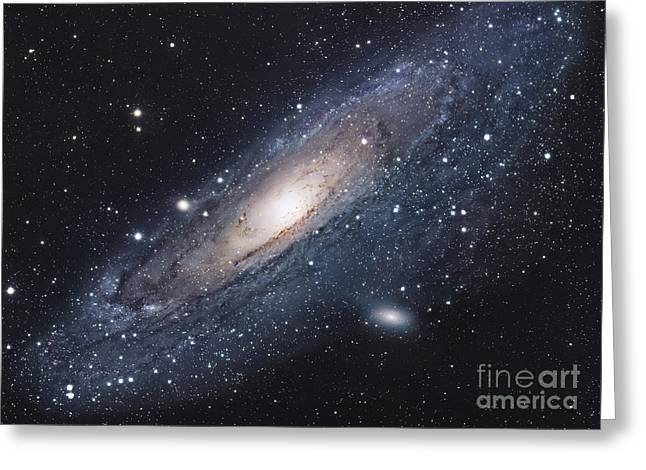 Star Greeting Cards - The Andromeda Galaxy Greeting Card by Robert Gendler