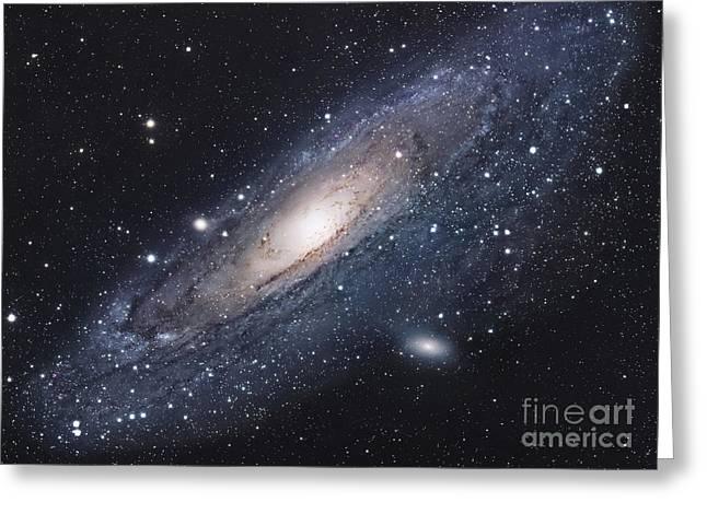 The Andromeda Galaxy Greeting Card by Robert Gendler