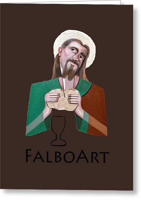 T Shirts Greeting Cards - The Bread Of Life Greeting Card by Anthony Falbo
